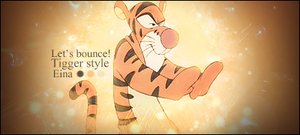 Signature: Tigger by HappyFaceStar