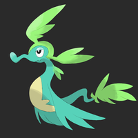 Leaf Dragon 2 by Zonettra