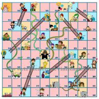 tridenth' snakes and ladders by tridenth