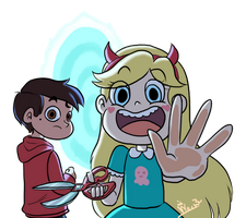 Break the 4th wall_1_svtfoe by wernwern