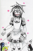 Maid!Jeff by Riiko96