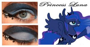 Makeup Is Magic Princess Luna by nazzara