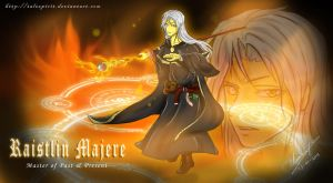 Wallpaper - Raistlin Majere by talespirit