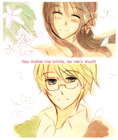 Your Smile is Contagious by Chaltiere