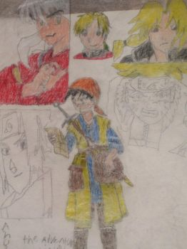anime heros unleash3 by landon1989