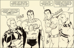 TLIID Superman-Supreme-Captain Marvel-Miracleman 1 by Nick-Perks