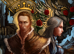King Alistair and Solona. by Nairiai
