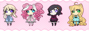 Cutie adoptable (ONE LEFT!) SALE! by Keiichu