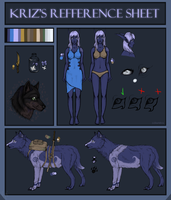 Kriz's Refference sheet by Krizll