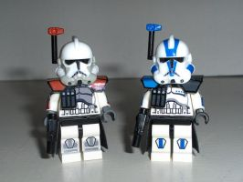 Arc Troopers Commanders by ArtFantom