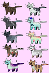 Cat Adopts: OPEN by Peacefuladopts