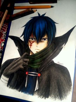 Hiding his true face...~ Jellal by Reyos-Cheney