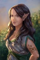 Elf Girl by Orchetto