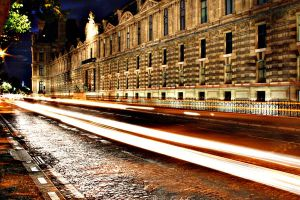Cars in Paris by Night by HairJay