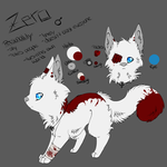 .:Ref-Sheet:. Zero by oOCupcakeOo