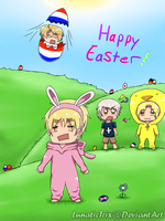 .:Happy Easter:. by LunaticTrix