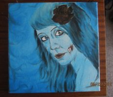 Corpse Bride oil on canvas by Synbag