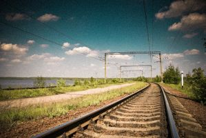 ...summer,rails. by square-brain