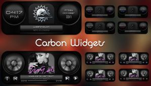 Carbon Widgets for xwidget by jimking