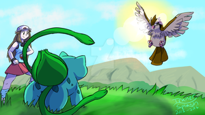 Into the Tall Grass... by TrainerSplash