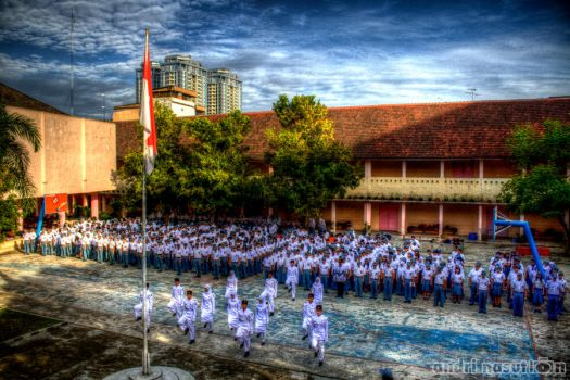 Teacher's day ceremony by andriNASUTION