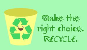 Recycle by bobbleheadgirl