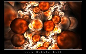 Lava Bubble Bath by Meckie