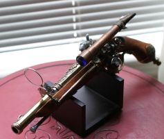 Steampunk Flintlock Closeup 2 by Frijoleluna