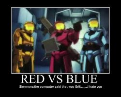 Red vs Blue by jason-the-13th