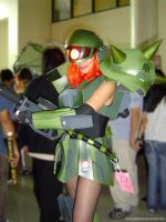 Mobile Suit Girl Zaku 1 by polidread
