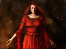 Melisandre of Asshai by jezebel