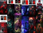 Blood Art Photoshop Action by GraphicAssets
