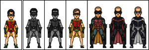 Comic 2 Film: Robin by MicroManED