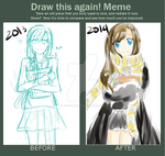 Draw this again meme(again)! by MangaGirl987