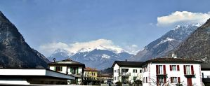 The Alps by Eurail by CorazondeDios