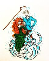 Merida and Jack by Shade-in-Hat