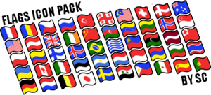 Flags icon pack by SweetCreeper132PL