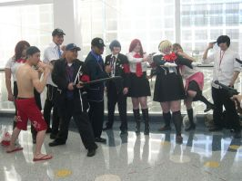 Warring Persona 3 Charries by WildFantasy