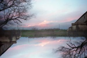 Spliced Pink Clouds by fadetag