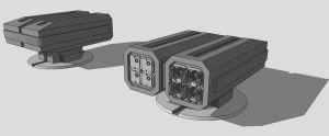 TS-3 Dual-Cell Missile Box by TheOrangeGuy