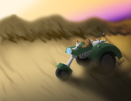 Vehicle Concept Painting by ideallyRANDOM