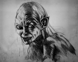 Gollum by Persefone999