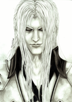 Sephiroth Advent Children by Erion90