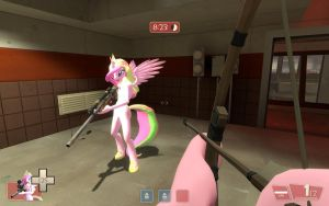 Celestia Molestia mod for TF2 release version by Kassgrein