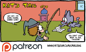 Patreon update: THE FUZZY PRINCESS short (Kat's Ta by bakertoons