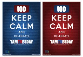 Keep Calm and Celebrate TamTUesday! by tamtu
