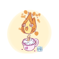 Flame of Birthday by minicosmicgirl