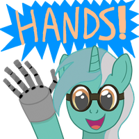 Robot Hands! by W4X