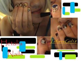 HETALIA NAILS by TriforceGirl18
