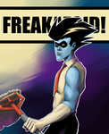 Freakazoid the Mop-boy by student-yuuto
